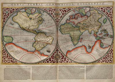 Planisferios, del lado del primer mundo (enterate)